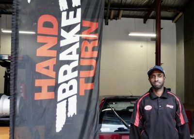 Hand Brake Turn Workshop Coordinator