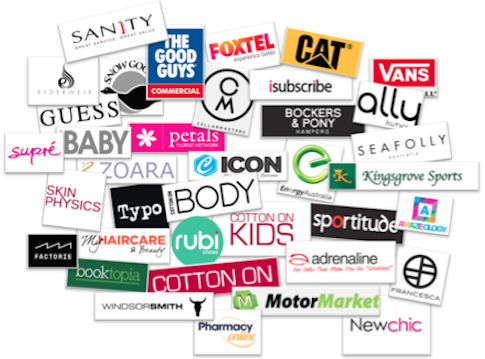 Club Shopper Logo Jumble